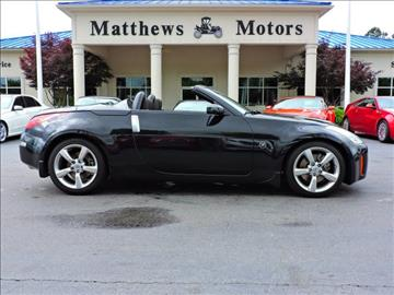2008 Nissan 350Z for sale at Auto Finance of Raleigh in Raleigh NC