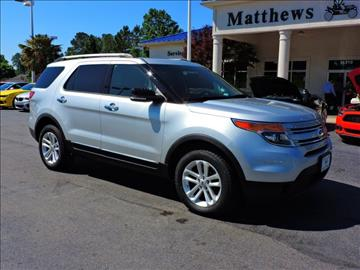 2014 Ford Explorer for sale at Auto Finance of Raleigh in Raleigh NC