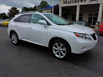 2011 Lexus RX 350 for sale at Auto Finance of Raleigh in Raleigh NC