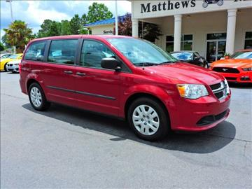 2014 Dodge Grand Caravan for sale at Auto Finance of Raleigh in Raleigh NC
