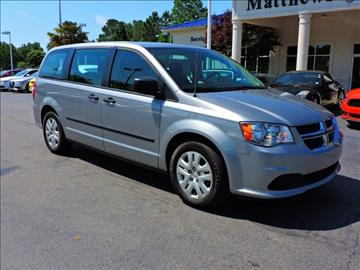 2016 Dodge Grand Caravan for sale at Auto Finance of Raleigh in Raleigh NC