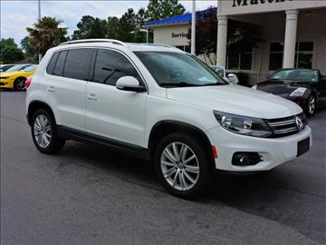 2012 Volkswagen Tiguan for sale at Auto Finance of Raleigh in Raleigh NC