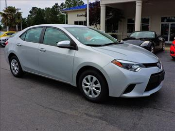 2016 Toyota Corolla for sale at Auto Finance of Raleigh in Raleigh NC