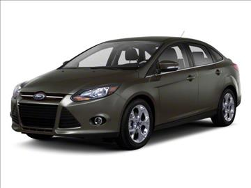 2013 Ford Focus for sale at Auto Finance of Raleigh in Raleigh NC