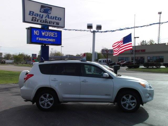 2011 TOYOTA RAV4 LIMITED 4X4 4DR SUV white all of bay auto brokers pre-owned vehicles go through
