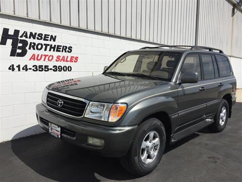 used 2000 toyota land cruiser for sale in gladstone or carsforsale com carsforsale com