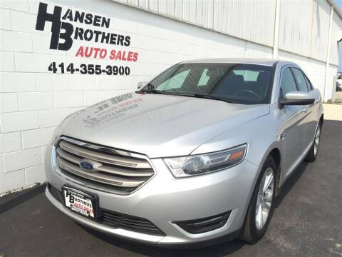 2016 Ford Taurus for sale at HANSEN BROTHERS AUTO SALES in Milwaukee WI