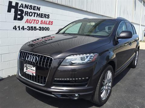Audi For Sale in Milwaukee, WI - HANSEN BROTHERS AUTO SALES
