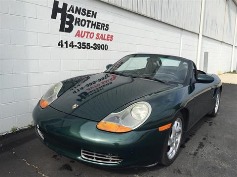 2000 Porsche Boxster For Sale In Milwaukee Wi