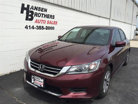2014 Honda Accord for sale in Milwaukee, WI