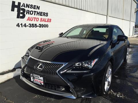Lexus Of Milwaukee >> Lexus Rc 300 For Sale In Milwaukee Wi Hansen Brothers