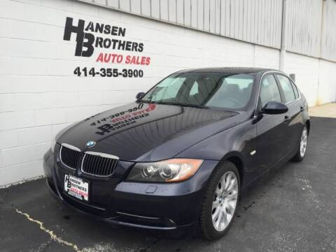 2006 BMW 3 Series for sale at HANSEN BROTHERS AUTO SALES in Milwaukee WI