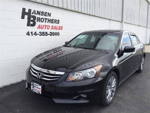 2011 Honda Accord for sale at HANSEN BROTHERS AUTO SALES in Milwaukee WI