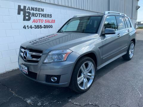 2012 Mercedes-Benz GLK for sale at HANSEN BROTHERS AUTO SALES in Milwaukee WI