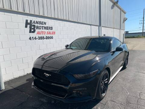 2016 Ford Mustang for sale at HANSEN BROTHERS AUTO SALES in Milwaukee WI