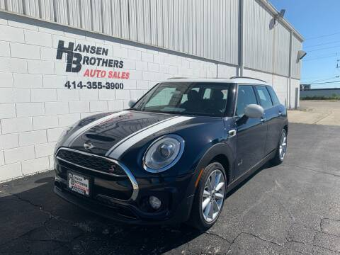 2017 MINI Clubman for sale at HANSEN BROTHERS AUTO SALES in Milwaukee WI