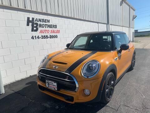 2017 MINI Hardtop 2 Door for sale at HANSEN BROTHERS AUTO SALES in Milwaukee WI