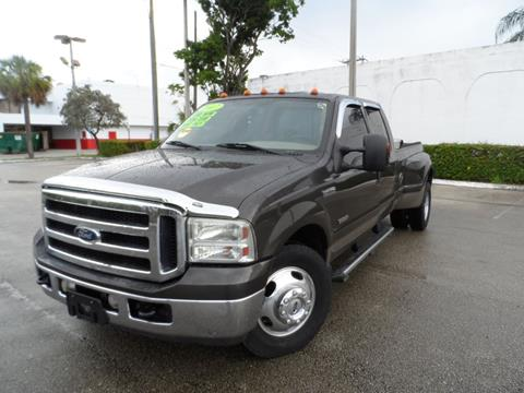 2007 Ford F-350 Super Duty for sale at Cars and Credit of Florida in Hollywood FL