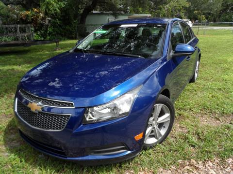 2013 Chevrolet Cruze for sale at Cars and Credit of Florida in Hollywood FL