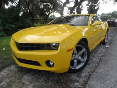 2012 Chevrolet Camaro for sale at Cars and Credit of Florida in Hollywood FL