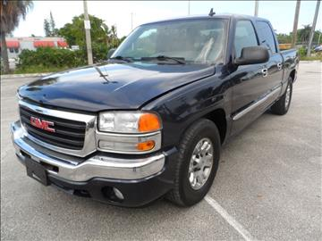 2006 GMC Sierra 1500 for sale at Cars and Credit of Florida in Hollywood FL