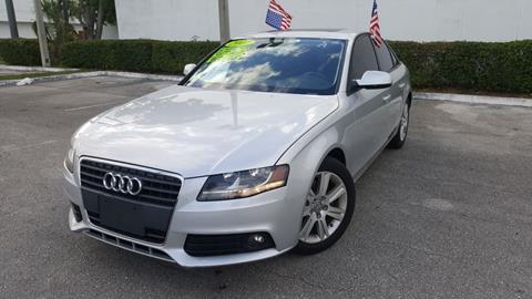 2011 Audi A4 for sale at Cars and Credit of Florida in Hollywood FL