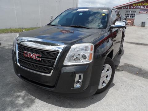 2013 GMC Terrain for sale at Cars and Credit of Florida in Hollywood FL