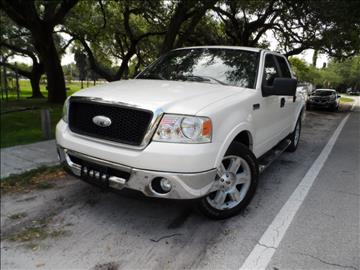 2007 Ford F-150 for sale at Cars and Credit of Florida in Hollywood FL