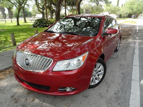 2012 Buick LaCrosse for sale at Cars and Credit of Florida in Hollywood FL