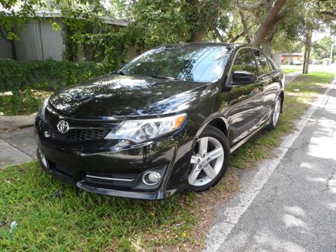 2014 Toyota Camry for sale at Cars and Credit of Florida in Hollywood FL