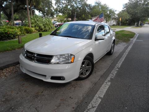 2013 Dodge Avenger for sale at Cars and Credit of Florida in Hollywood FL