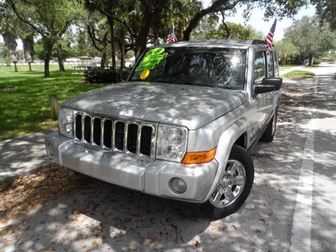 2007 Jeep Commander for sale at Cars and Credit of Florida in Hollywood FL