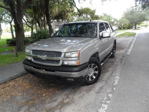2006 Chevrolet Avalanche for sale at Cars and Credit of Florida in Hollywood FL