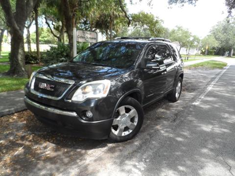 2008 GMC Acadia for sale at Cars and Credit of Florida in Hollywood FL