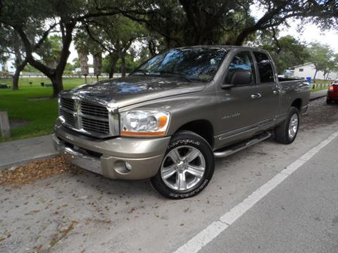 2006 Dodge Ram Pickup 1500 for sale at Cars and Credit of Florida in Hollywood FL