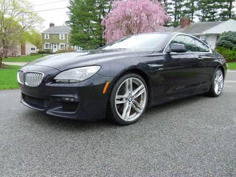 2012 BMW 6 Series for sale at CullcoCars.com in Cranston RI
