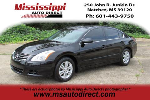 2012 Nissan Altima for sale in Natchez, MS