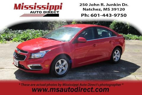 2016 Chevrolet Cruze Limited for sale in Natchez, MS