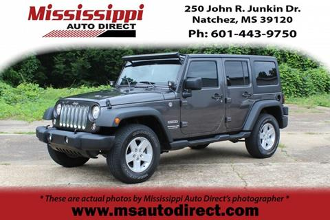 2017 Jeep Wrangler Unlimited for sale in Natchez, MS