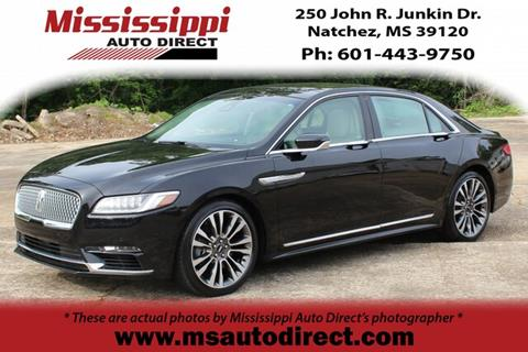 2017 Lincoln Continental for sale in Natchez, MS