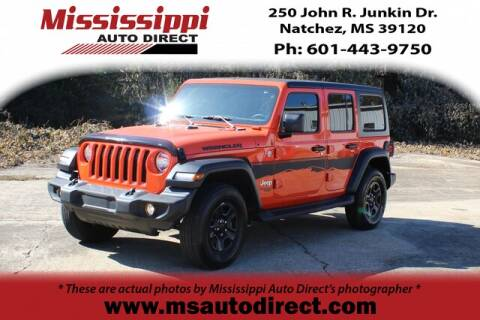 2018 Jeep Wrangler Unlimited for sale in Natchez, MS