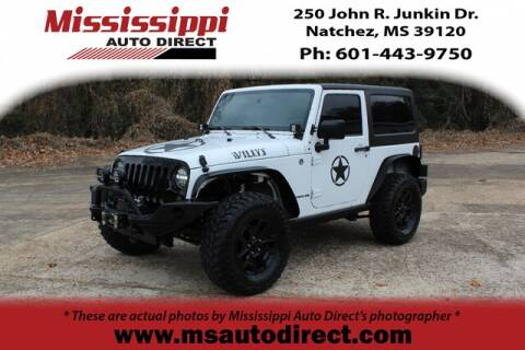 2015 Jeep Wrangler for sale in Natchez, MS