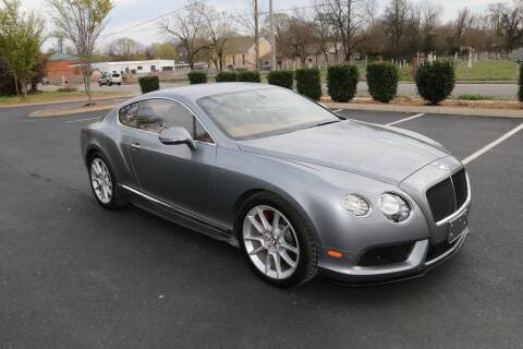 2015 Bentley Continental for sale at Auto Collection Of Murfreesboro in Murfreesboro TN
