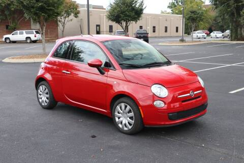 2015 FIAT 500 for sale at Auto Collection Of Murfreesboro in Murfreesboro TN