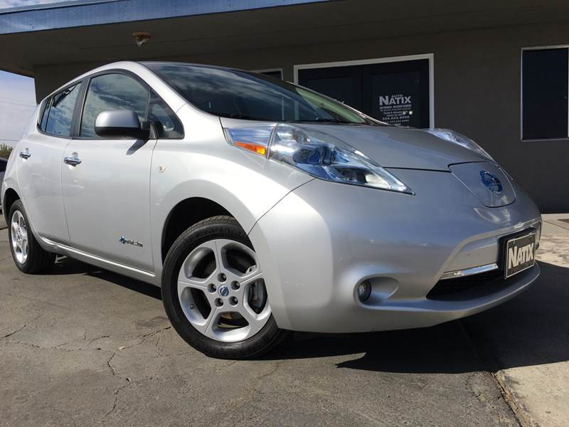 2011 Nissan Leaf Sl 4dr Hatchback In Tulare Ca Auto Natix