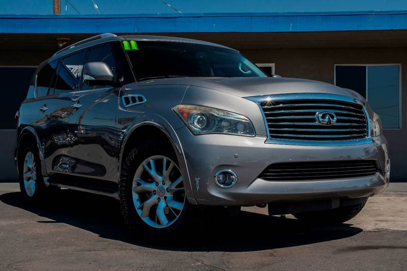 Magnificent 2011 Infiniti Qx56 4X4 4Dr Suv W Split Bench Seat Package Pdpeps Interior Chair Design Pdpepsorg