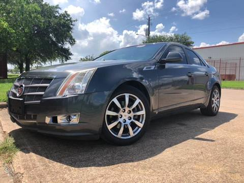 2009 Cadillac CTS for sale at TWIN CITY MOTORS in Houston TX