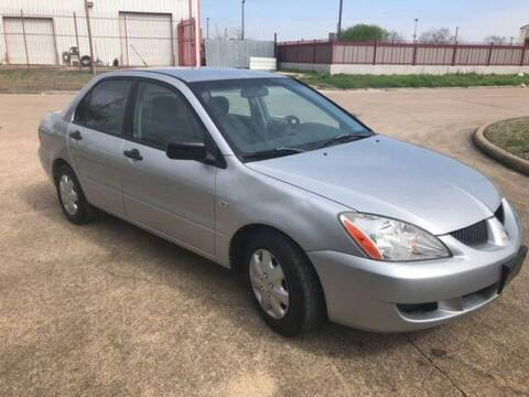 2005 Mitsubishi Lancer ES for sale at TWIN CITY MOTORS in Houston TX