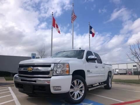 2011 Chevrolet Silverado 1500 LT for sale at TWIN CITY MOTORS in Houston TX