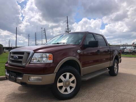 2005 Ford F-150 for sale at TWIN CITY MOTORS in Houston TX
